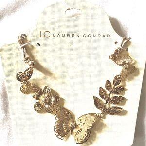 Lauren Conrad Garden Butterfly Statement Necklace